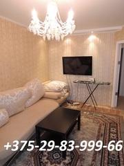 Квартира на сутки,  часы в ЖЛОБИНЕ. Мк-н 18,  д. 7. +375298399966 (МТС)