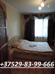 ЖЛОБИН. Квартира на часы,  сутки.Мк-н 17,  д.12 (двушка) +375298399666
