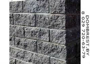 Блок рваный камень для забора в Бресте