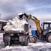 Вывоз мусора снега самосвалами