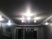 Натяжные потолки. Светильник и карниз в подарок