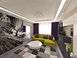 Дизайн интерьера квартир, домов, коттеджей.